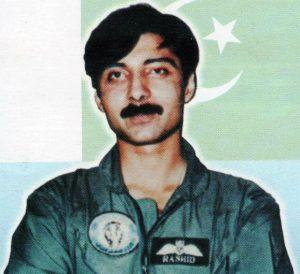 Flt. Lt. Rashid Ahmed Khan