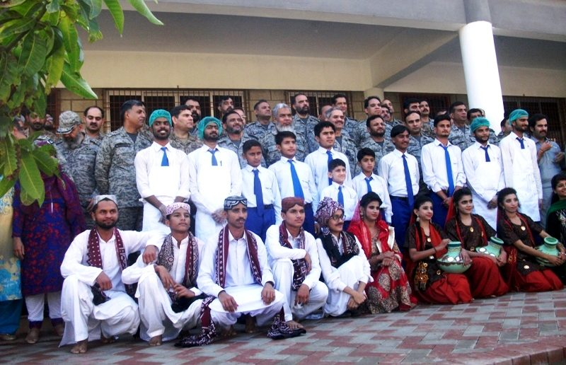 Air War College at Deaf Reach Scool Rashidabad