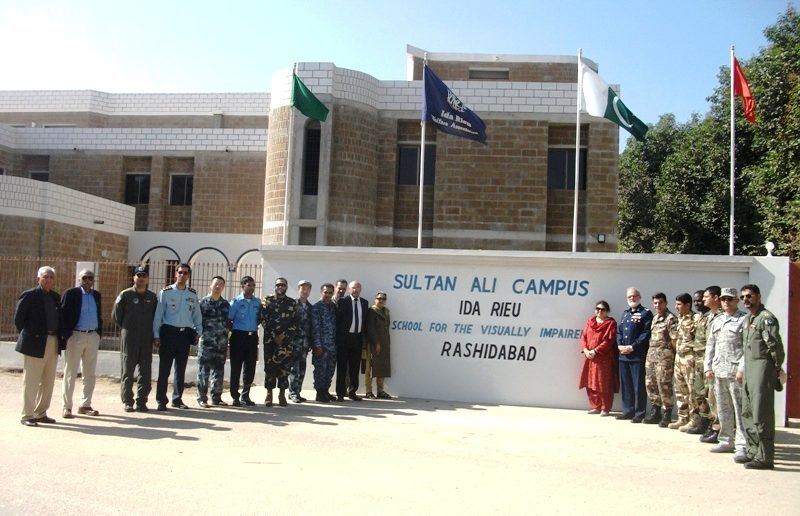 Allied officers at Sultan Ali campus Rashidabad