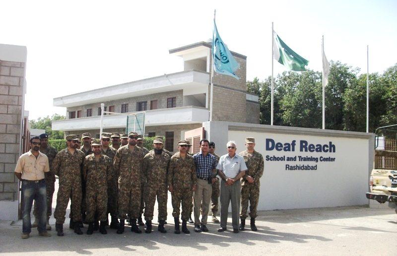 Army staff college visit Rashidabad