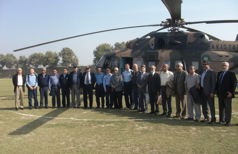 PAF War College Allied Officers Visited Rashidabad