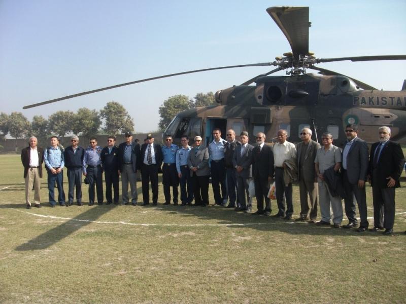 PAF War College Allied Officers Visited Rashidabad