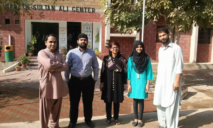 Guest from NUST visited Rashidabad