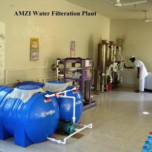 AMZI Water Filtration Plant