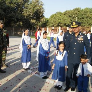 Air Chief Sohail  Aman at Deaf Reach