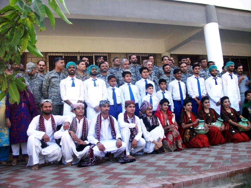 Air War College at Deaf Reach Scool Rashidabad